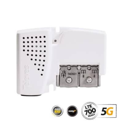 TELEVES 560601 PicoKom Ενισχυτής Γραμμής AGC 5G LTE UHF/VHF/SAT 2xOut