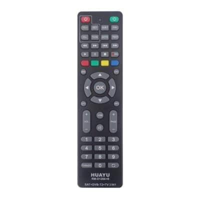 HUAYU RM-D1266+B Universal Τηλεχειριστήριο για Επίγειους Αποκωδικοποιητές DVB-T