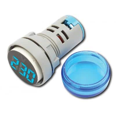 VM-20-500V AC BLUE Ψηφιακό Βολτόμετρο 20-500V AC με οθόνη 3 ψηφίων, μπλε