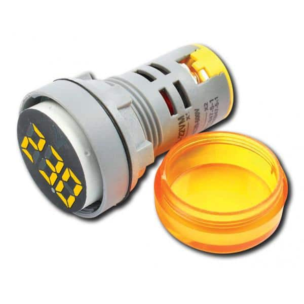 VM-20-500V AC ORANGE Ψηφιακό Βολτόμετρο 20-500V AC με οθόνη 3 ψηφίων, πορτοκαλί