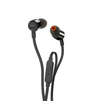 Introducing JBL TUNE210 in-ear headphones. They're lightweight, comfortable and compact.
