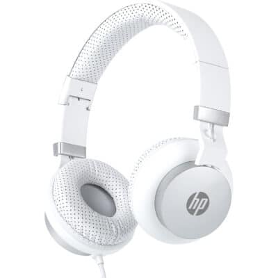 HP DHH-1205 Stereo Ακουστικά με Μικρόφωνο, Λευκά