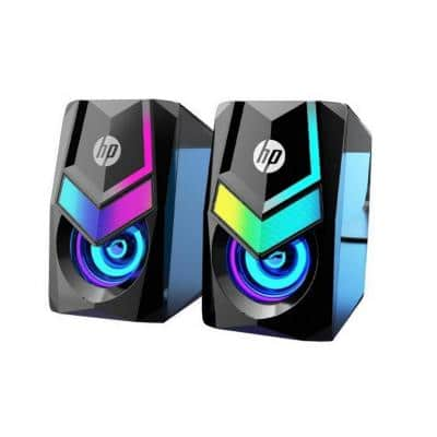 HP DHE-6000 Gaming Speakers with RGB Backlight