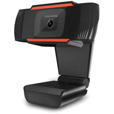 The Platinet 720p webcam has a built-in digital noise-reducing microphone, which makes it perfect for office use as well as home use during videoconferencing, video recording or photography. The device does not require installation using drivers thanks to the plug & play function. The webcam offers high sound quality and image sharpness in combination with the elegant design of the device. HD 1280 × 720 video resolution Wide 180° viewing angle Auto white balance and color correction CMOS sensor Comaptible with Windows Vista / 7 / 8 / 10 1.5 m USB 2.0 cable Plug & Play – no drivers required Digital noise canceling microphone used Easy assembly with a clip Elegant and simple design