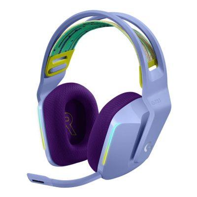 LOGITECH G733 Lightspeed RGB Gaming Headset - Λιλά