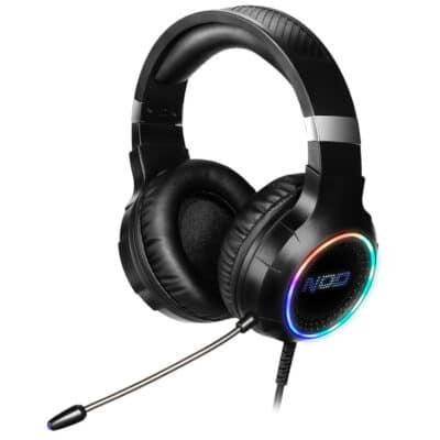 NOD DEPLOY USB Gaming Headset με RGB LED φωτισμό, δόνηση και χειριστήριο