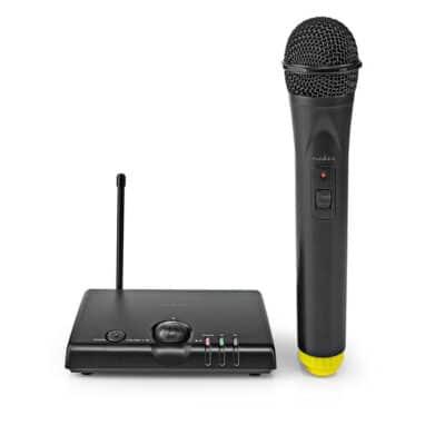 Ασύρματο μικρόφωνο με δέκτη