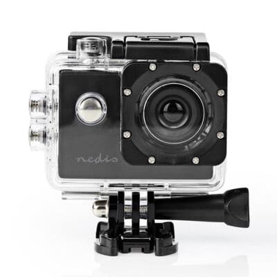 "NEDIS ACAM04BK Action κάμερα HD 720p, με οθόνη TFT 2"""