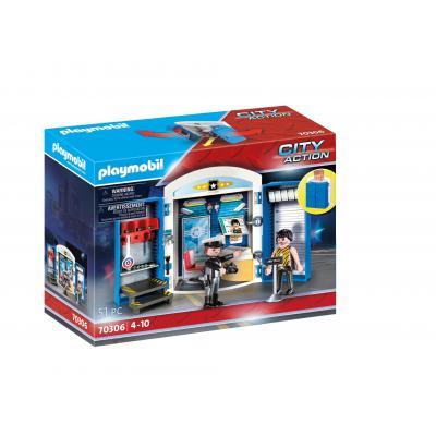 """Playmobil Play Box """"Αστυνομικό Τμήμα"""""""