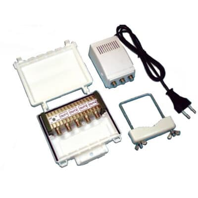 MISTRAL 4U Σετ Ενισχυτή κεραίας 28dB με φίλτρο LTE & τροφοδοτικό