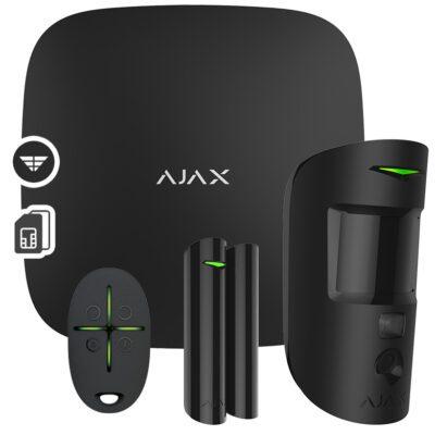 AJAX SYSTEMS Starter Kit Cam, Black
