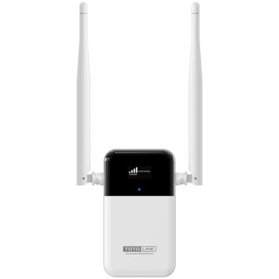 TOTOLINK EX1200L AC1200 Dual Band Wifi Smart Screen Display Extender