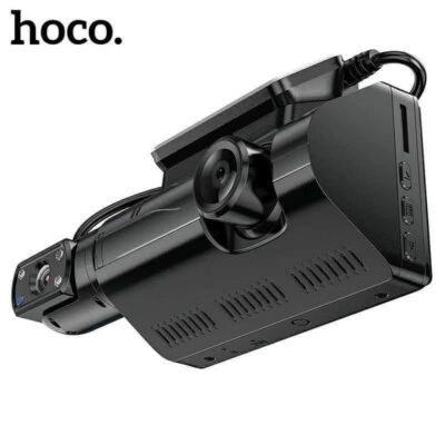 HOCO DI07 Dashcam with dual Cameras