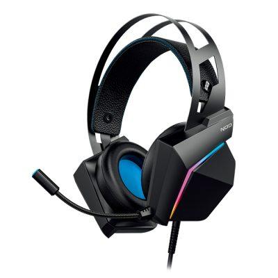 NOD CHAOS Gaming headset με εύκαμπτο μικρόφωνο και RGB LED φωτισμό
